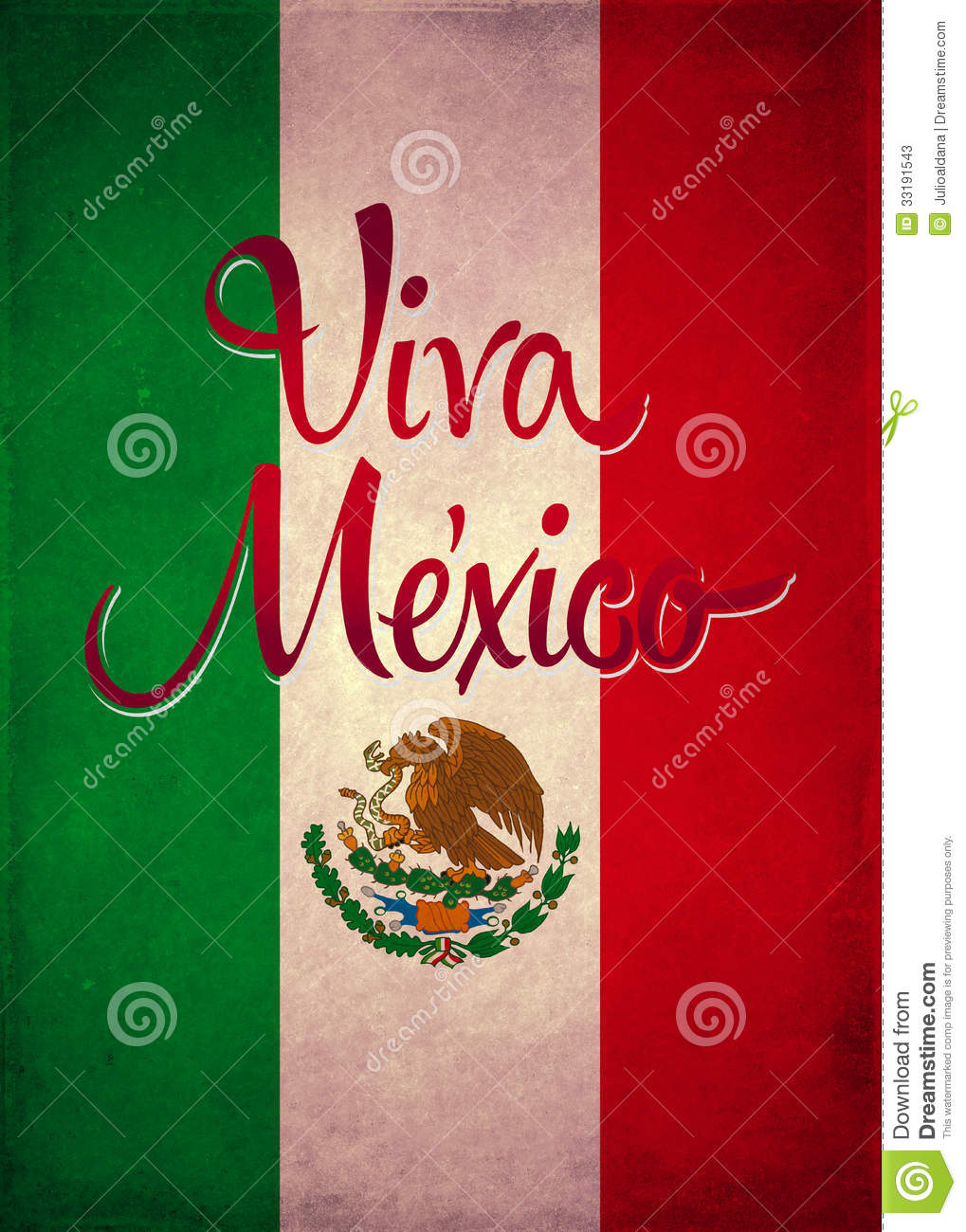 ... similar stock images of ` Vintage viva mexico poster - card template