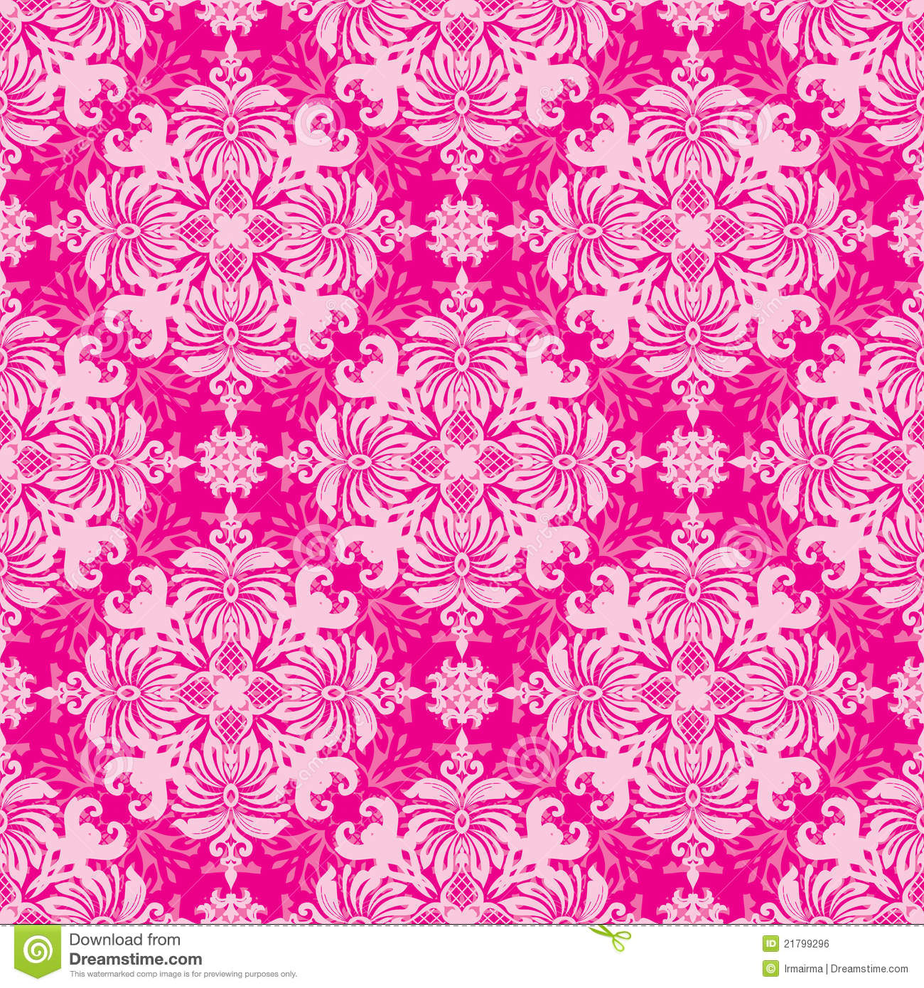 Christmas tree decorations pink - Vintage Wallpaper Royalty Free Stock Image Image 21799296
