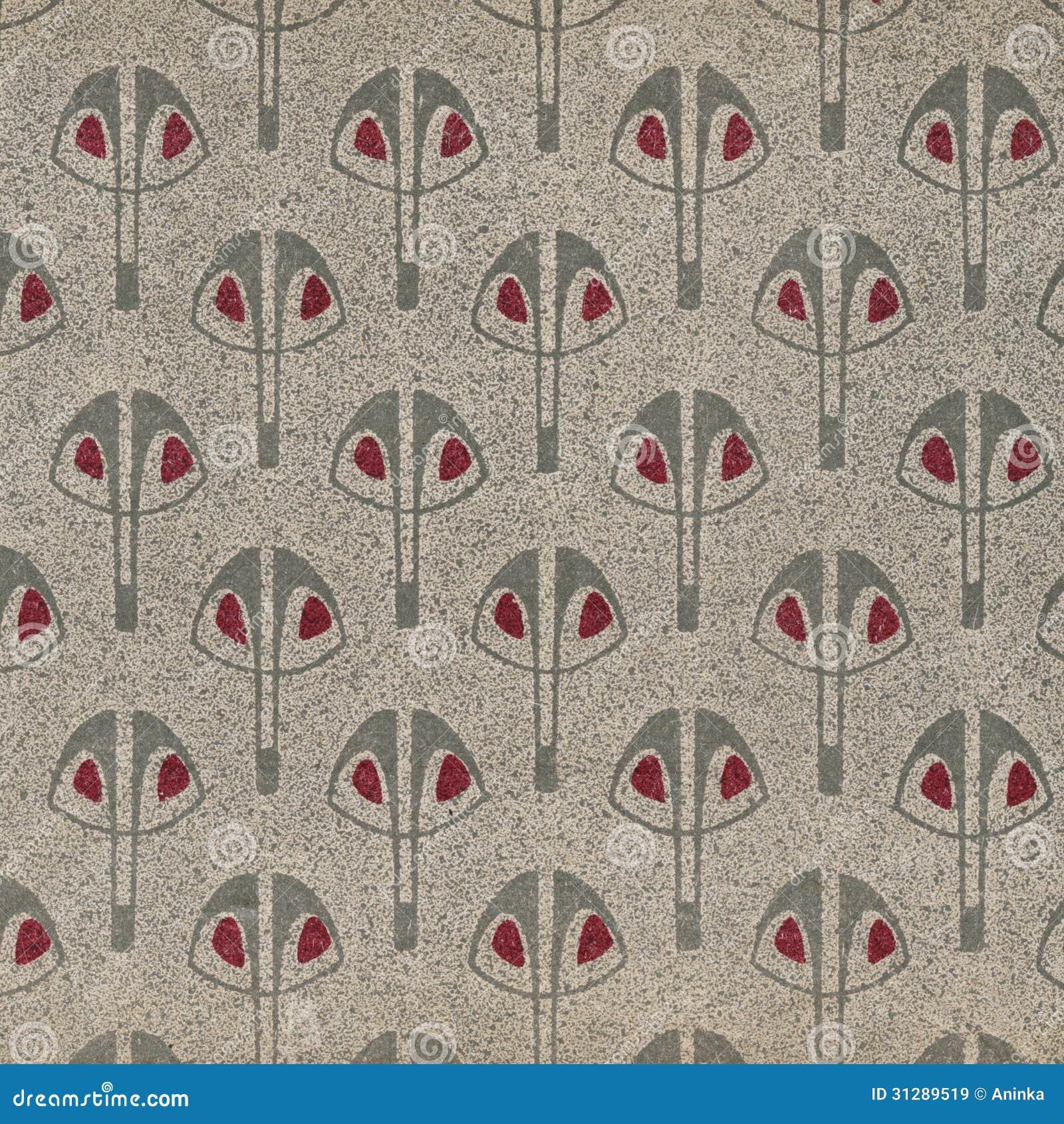 vintage wallpaper grey royalty free stock images image. Black Bedroom Furniture Sets. Home Design Ideas