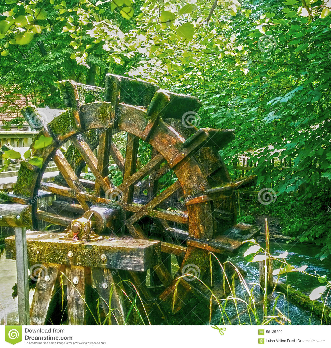 how to make a small water wheel