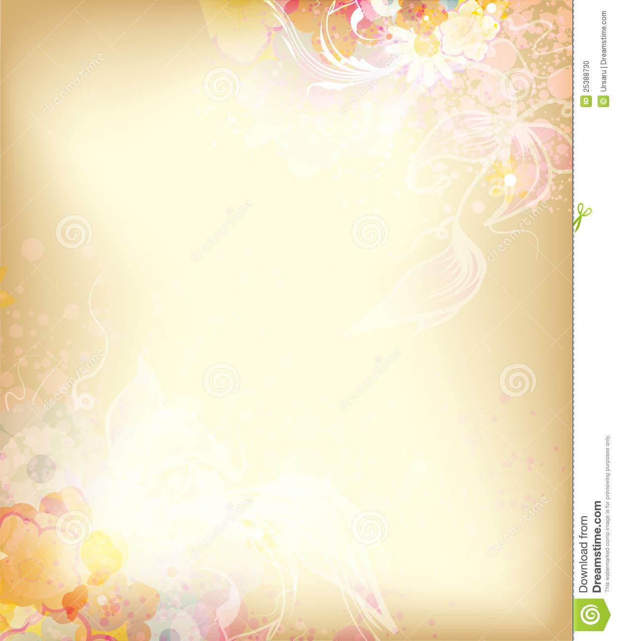Vintage Watercolor Background Stock Photo - Image: 25388730