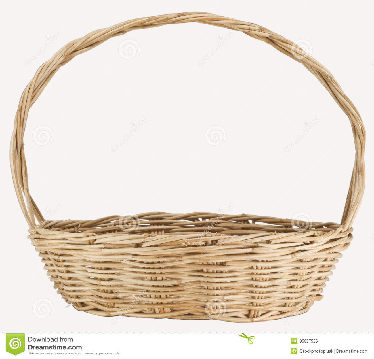 Vintage weave wicker basket stock photo image of gift isolated vintage weave wicker basket gift isolated negle Choice Image