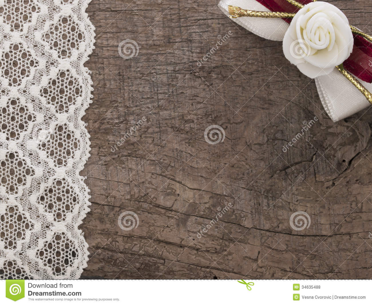 Vintage Wedding Background Stock Illustration Image Of