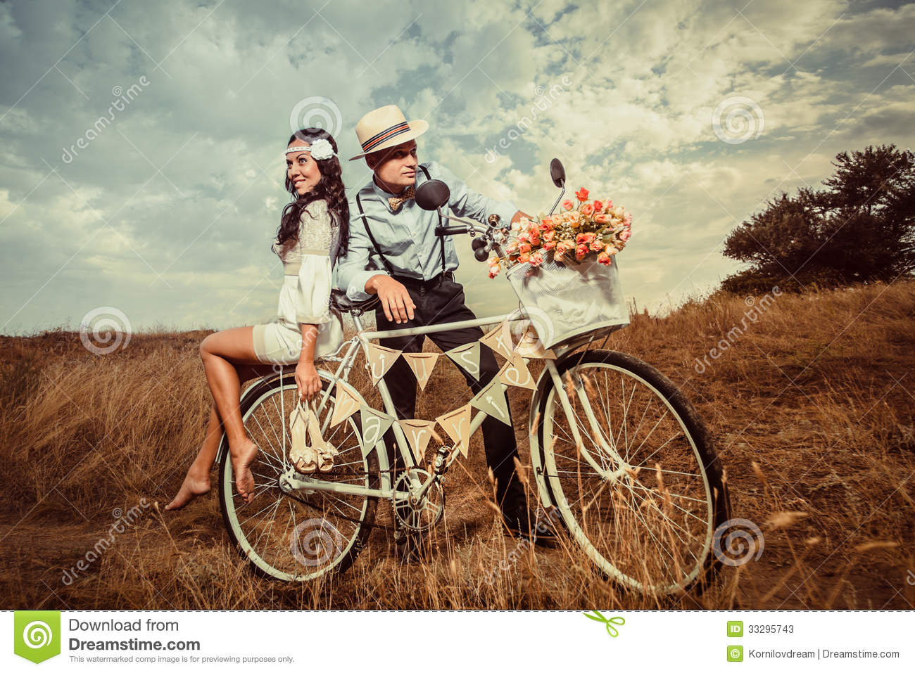 Vintage Wedding Stock Photos Image 33295743
