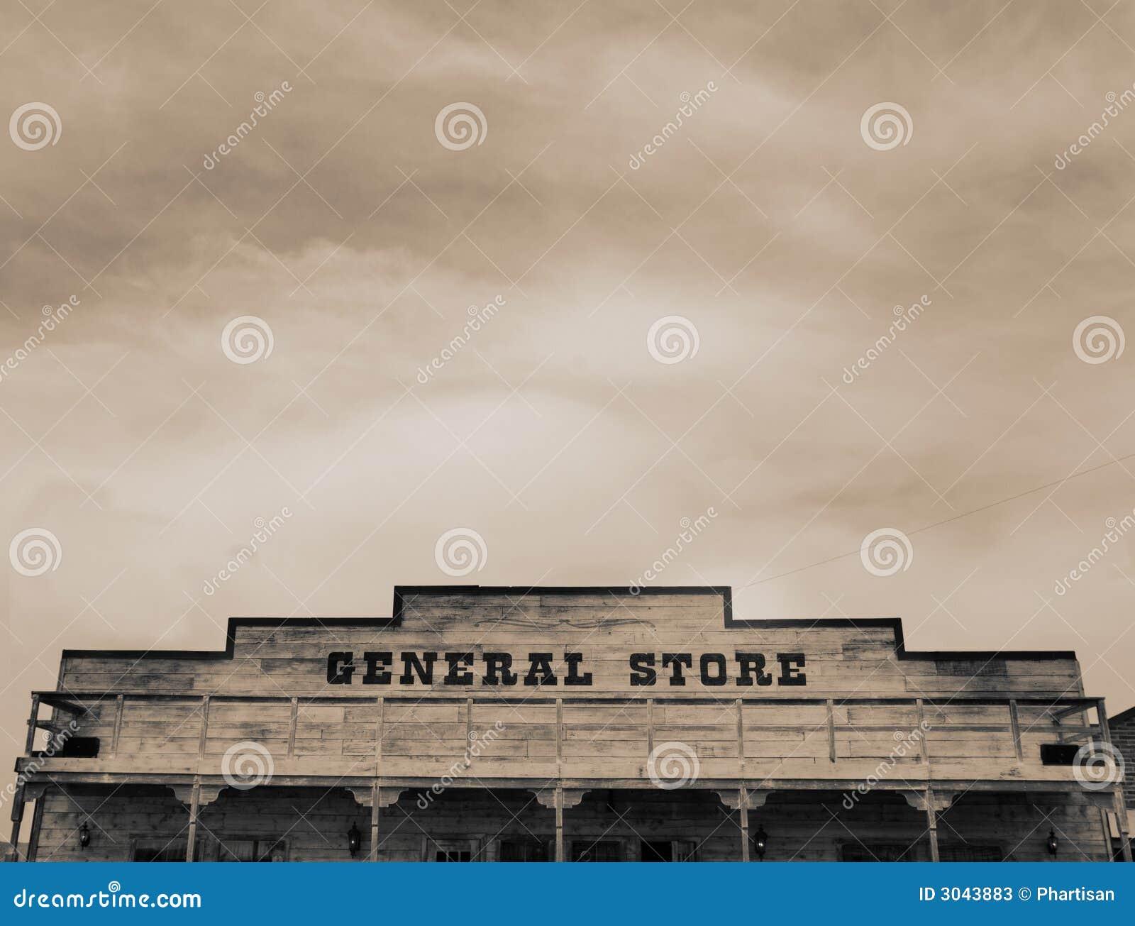 Vintage Western General Store