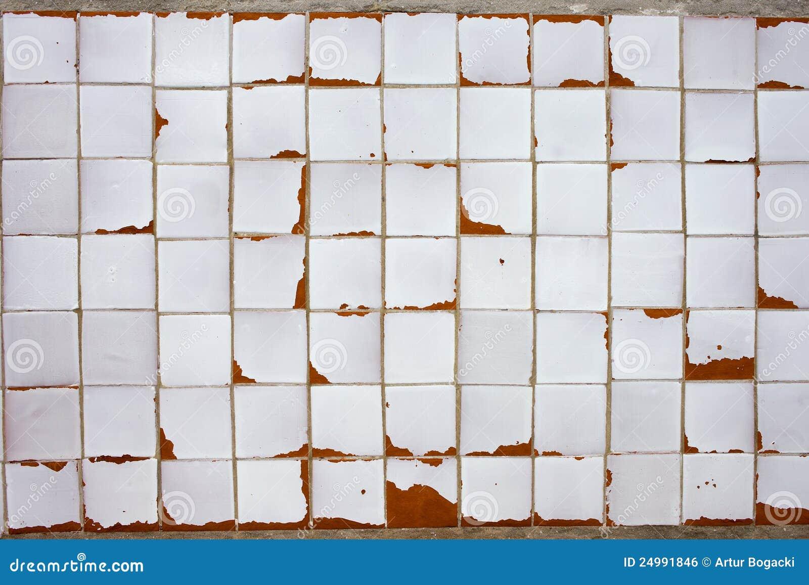 Vintage White Kitchen Tiles