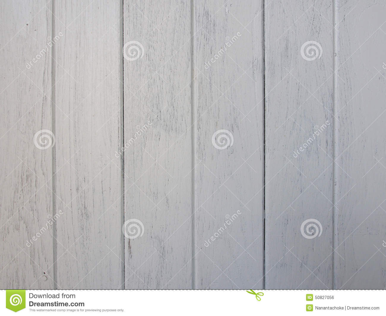 Vintage White Wood Board Background Texture