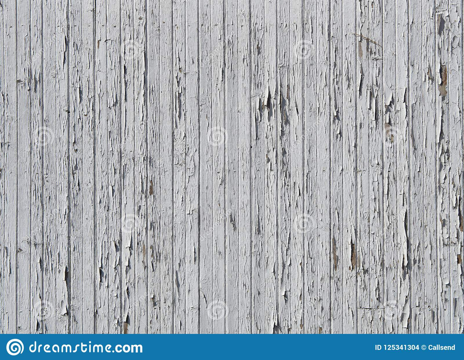 Vintage White Wood Texture With Natural Patterns As Background