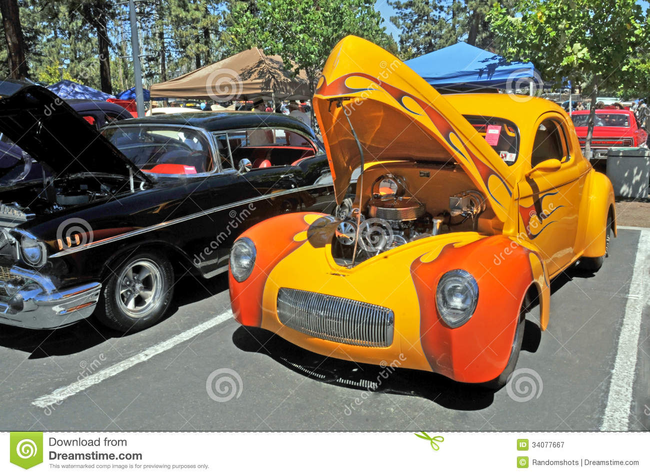 Vintage Willys Gasser editorial photography  Image of race