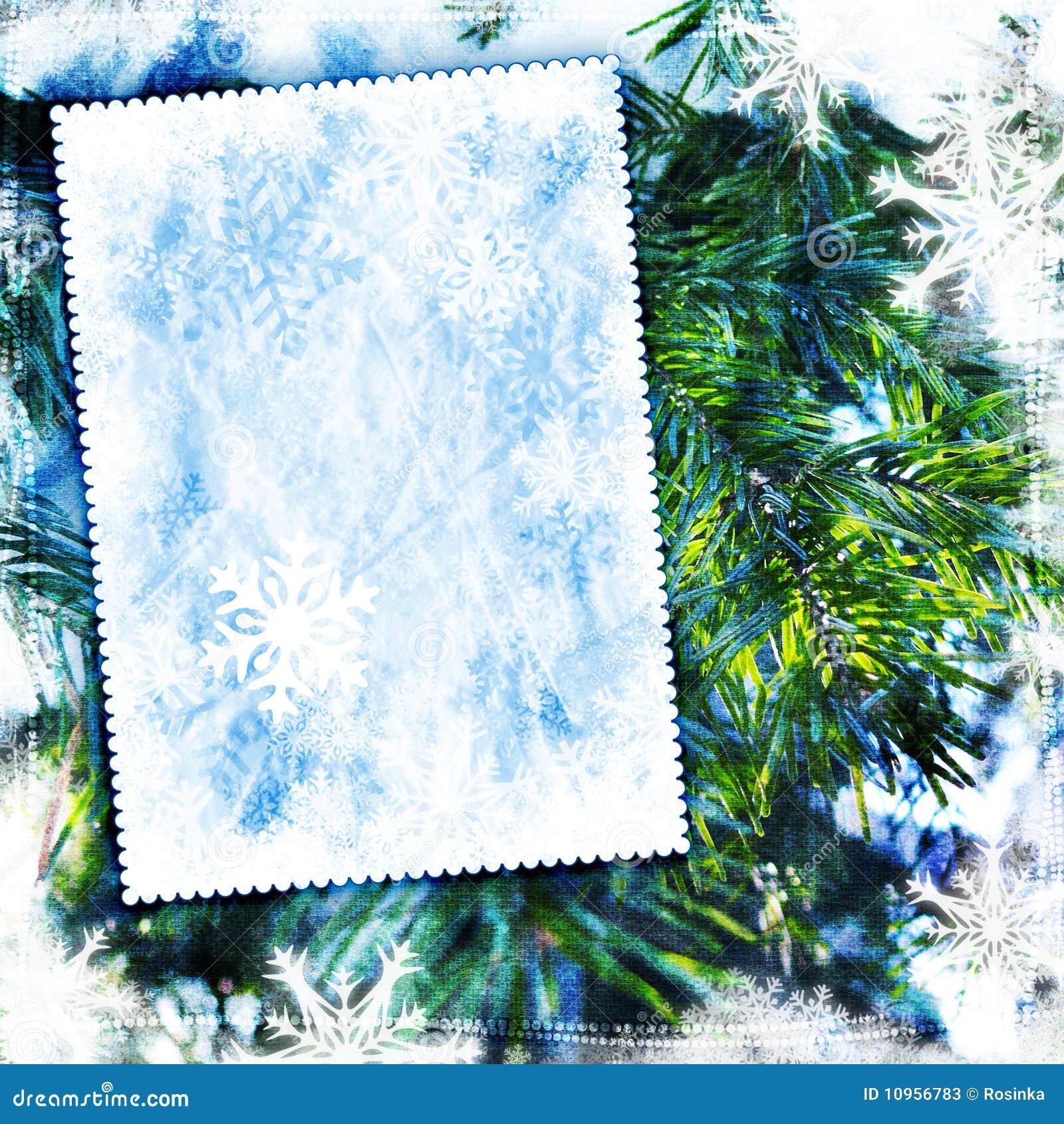 Vintage Winter Texture...