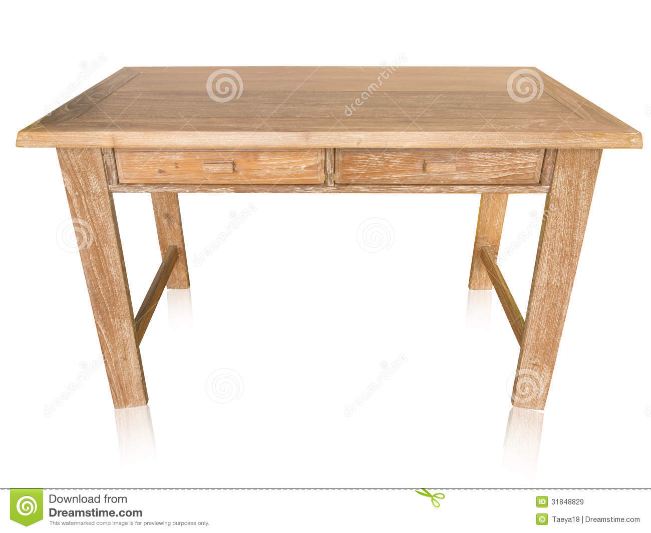 Marvelous photograph of Vintage Wood Table Royalty Free Stock Images Image: 31848829 with #84A625 color and 1300x1065 pixels