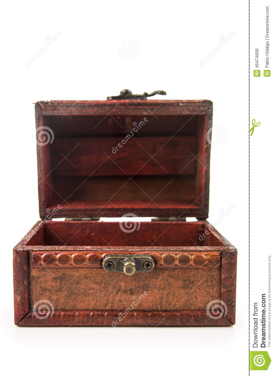 Treasure Toys Cartoon : Ancient wooden treasure chest full of coins royalty free
