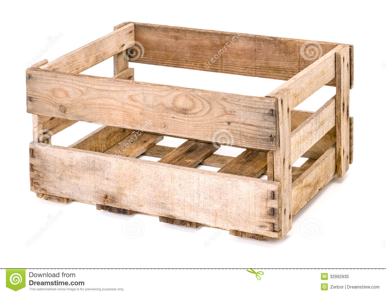 Vintage Wooden Wine Box Stock Image Image Of Case