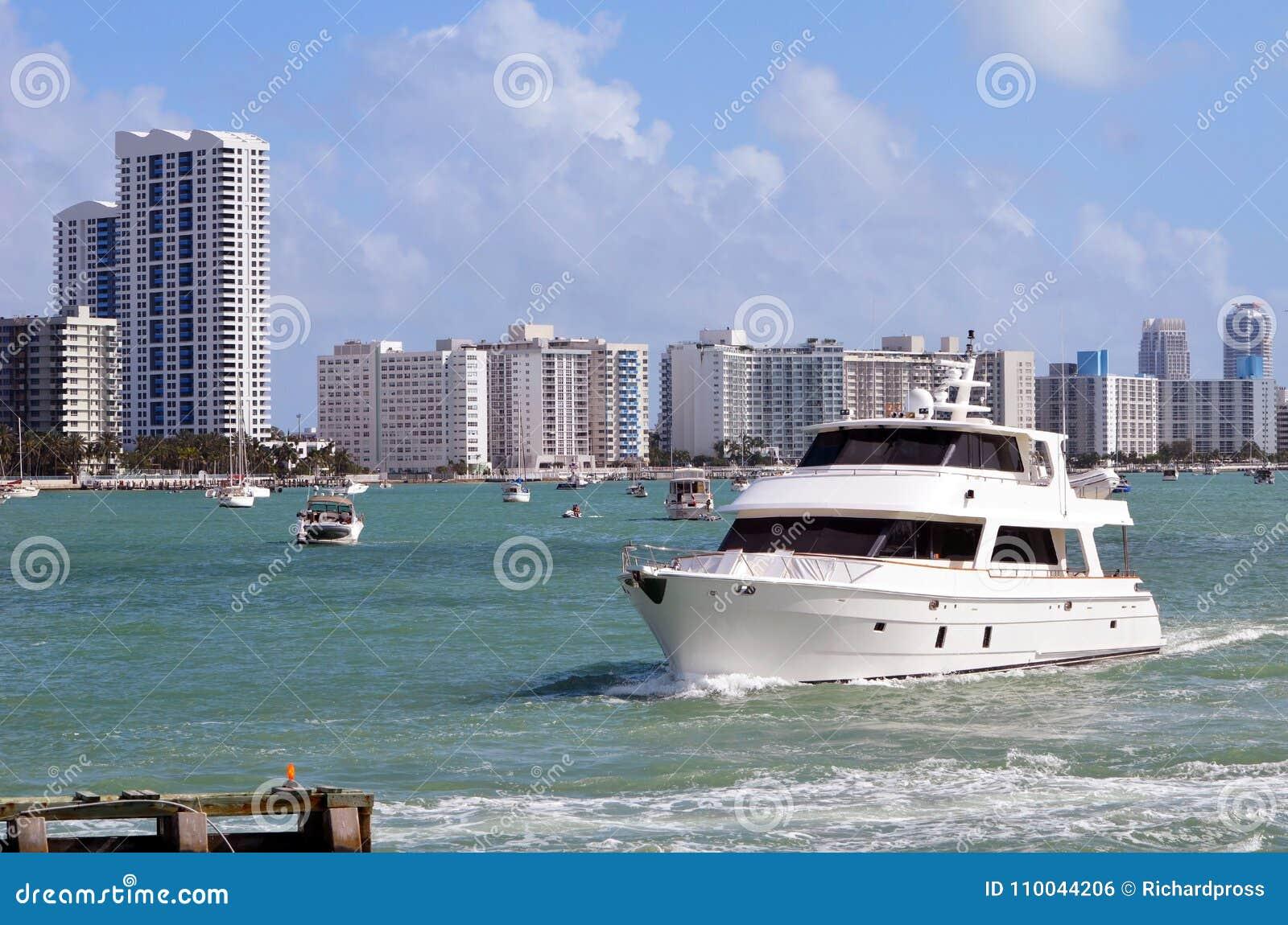 Vintage Yacht and SoBe Condo Skyline
