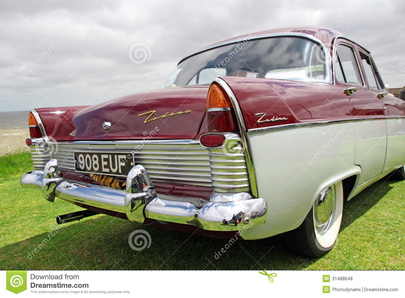 Vintage Zodiac Car Editorial Stock Photo Image Of Motor - Ideal classic cars car show