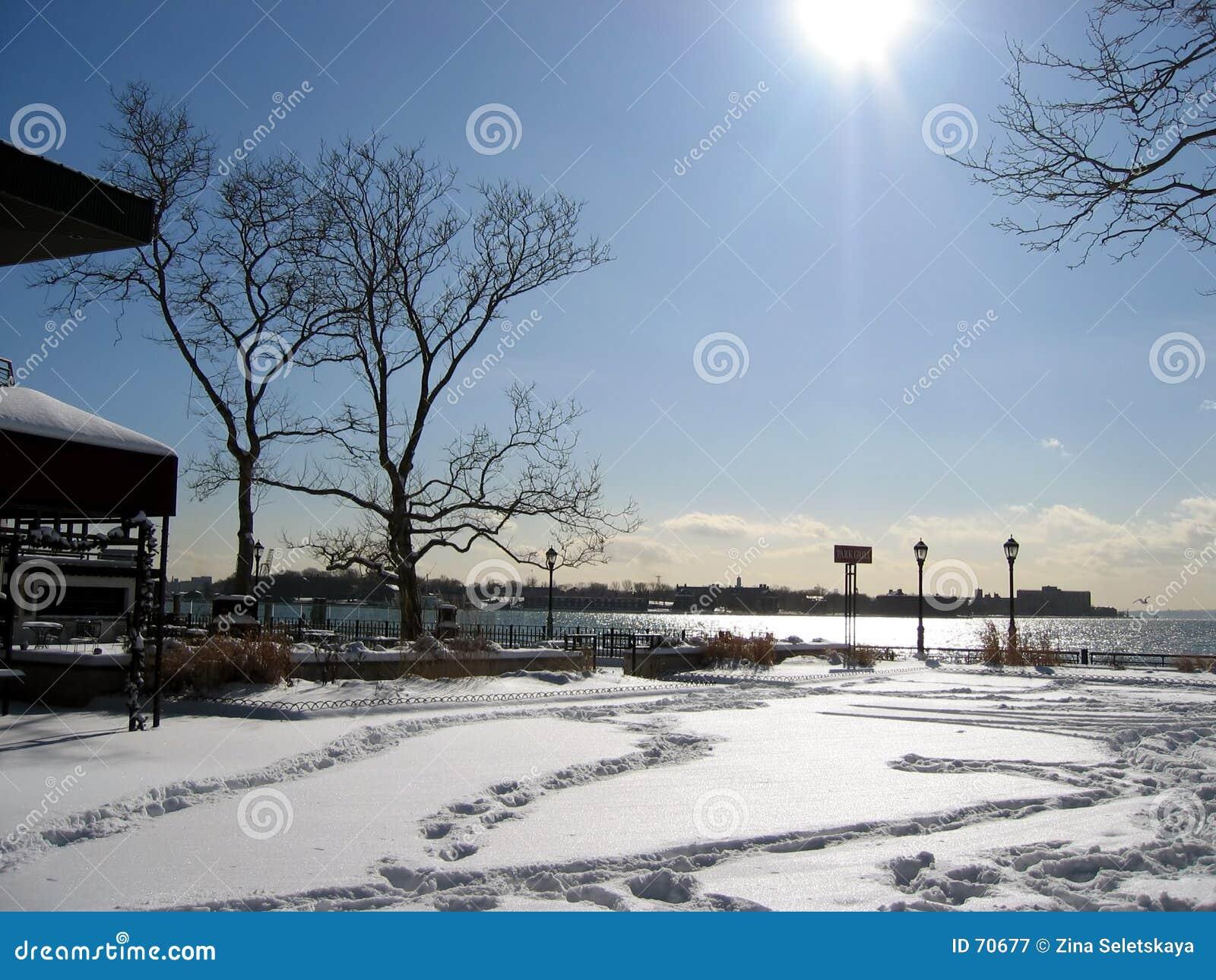Vinter för 2 park