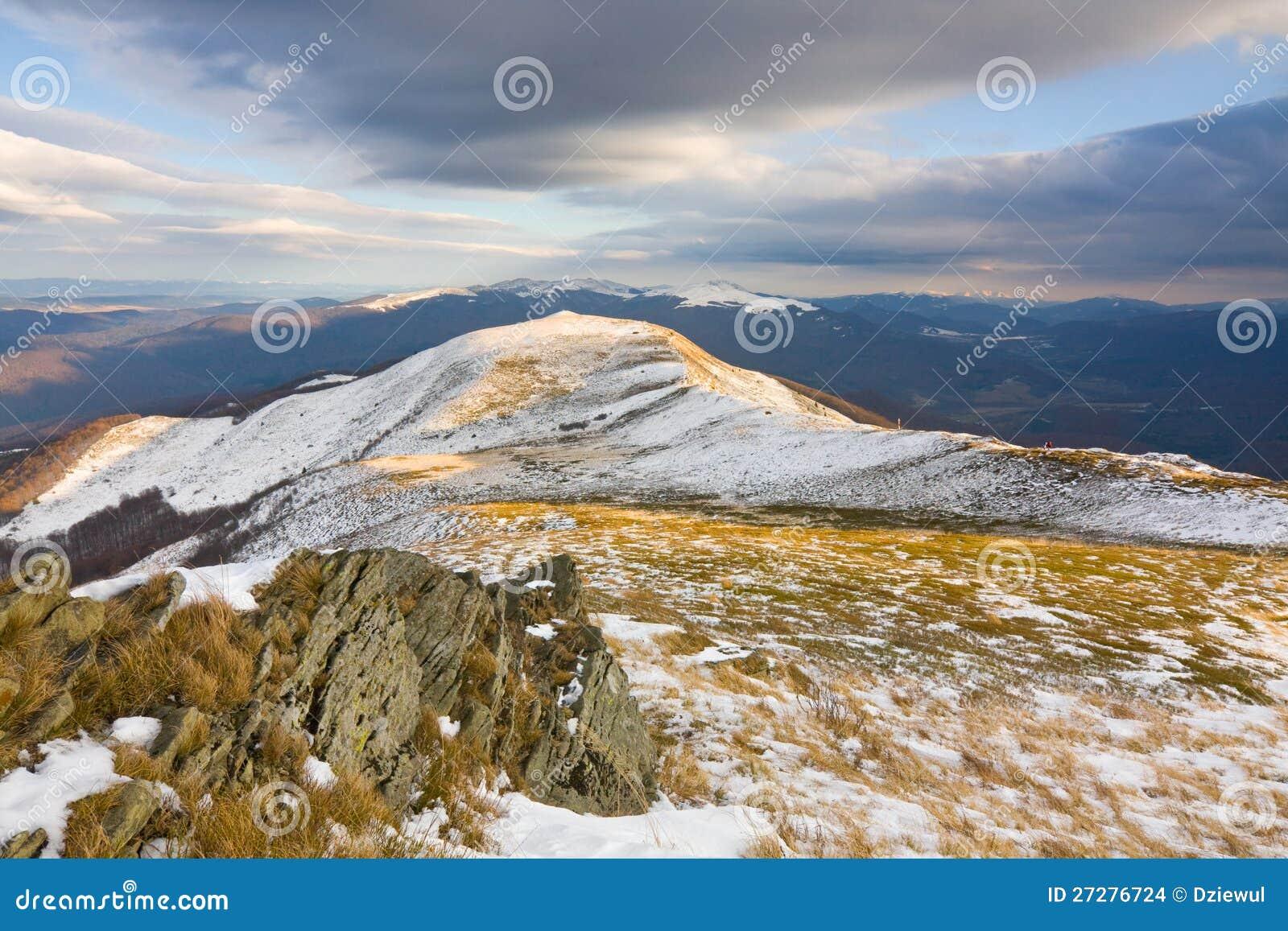 Vinter i berg, Polen
