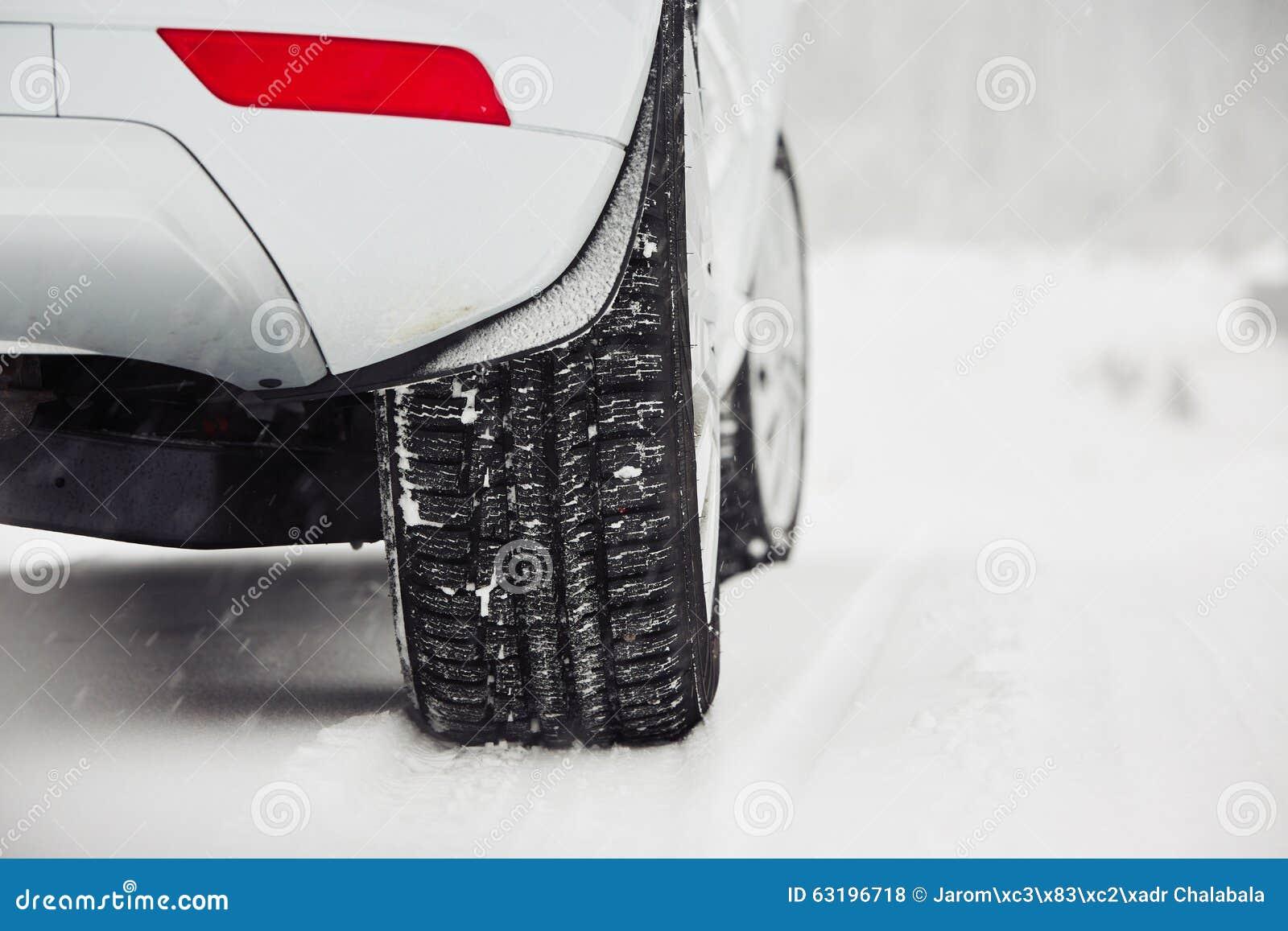 Vinter på vägen