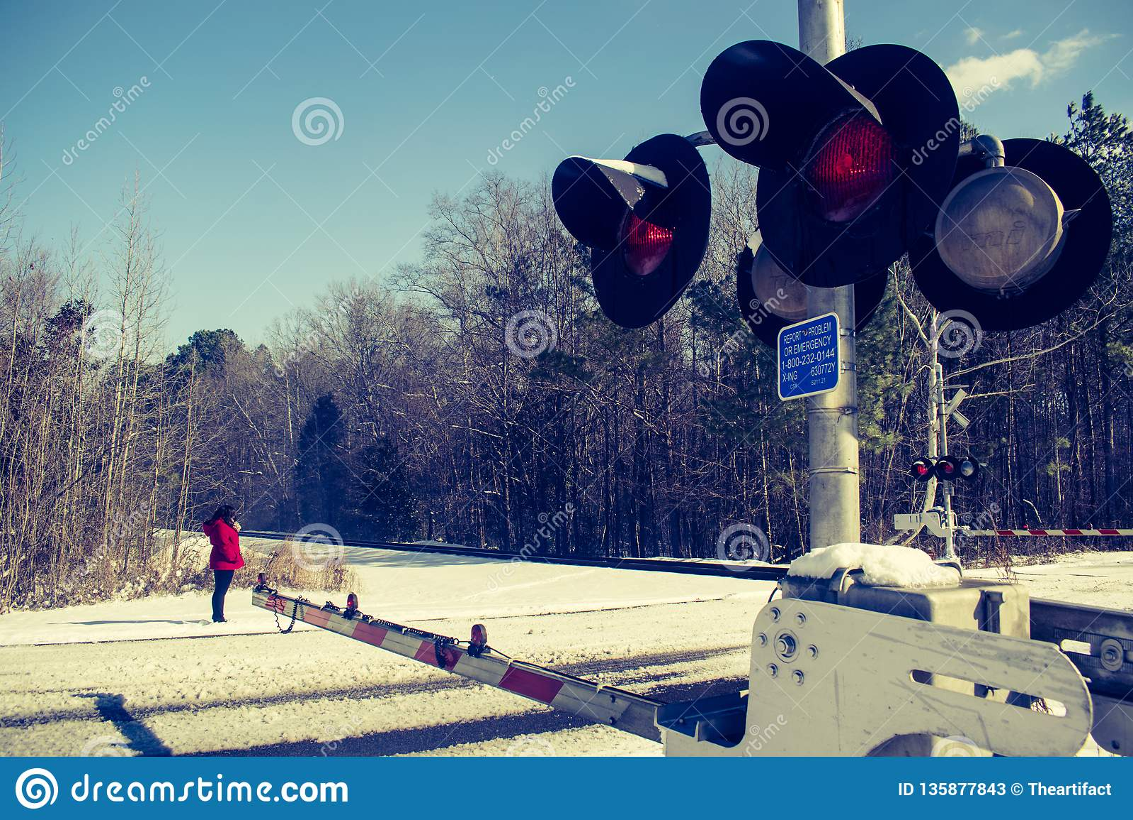 Vinterjärnvägspår