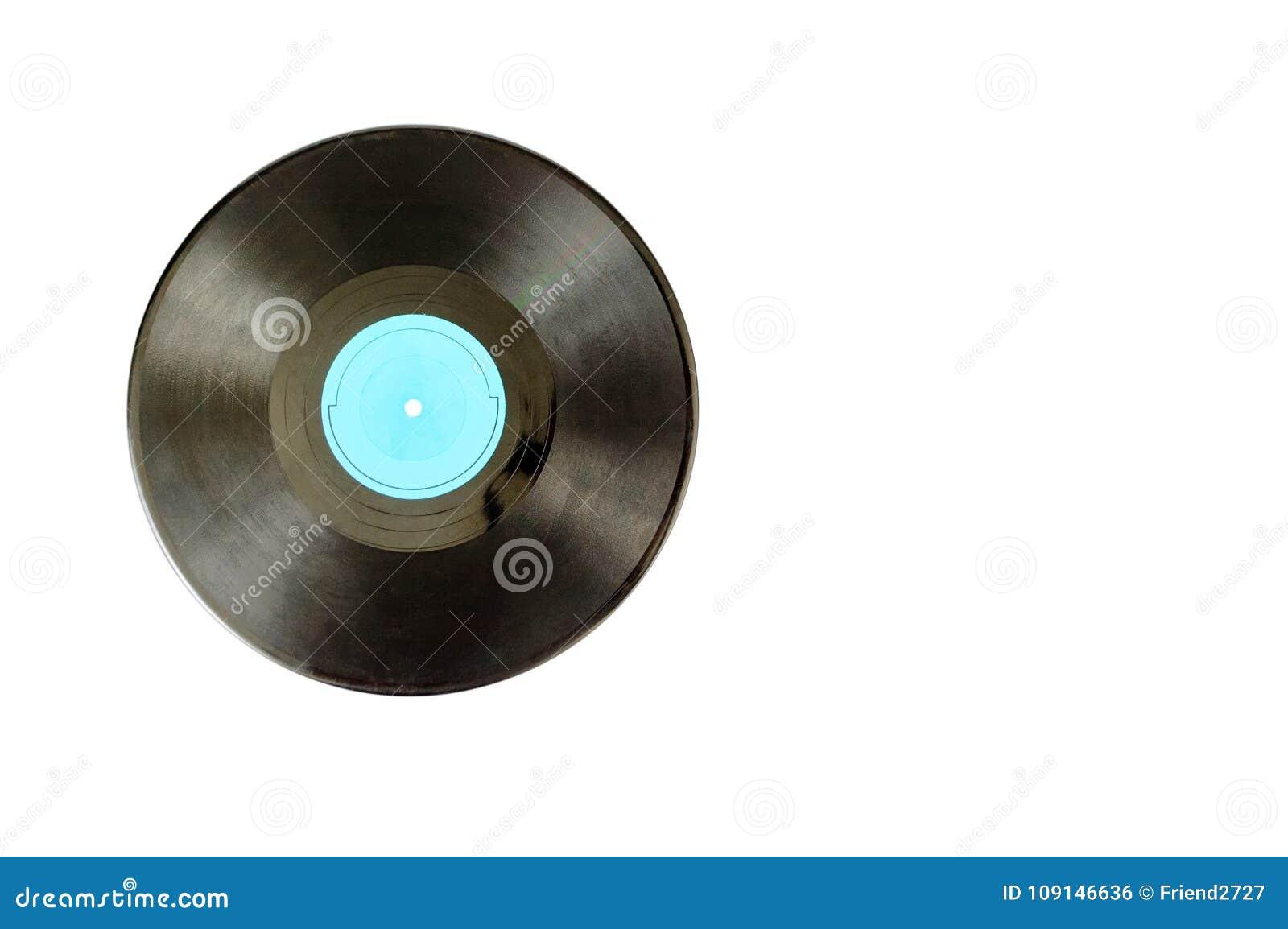 Vinyl för diskett för album svart registrerad lp