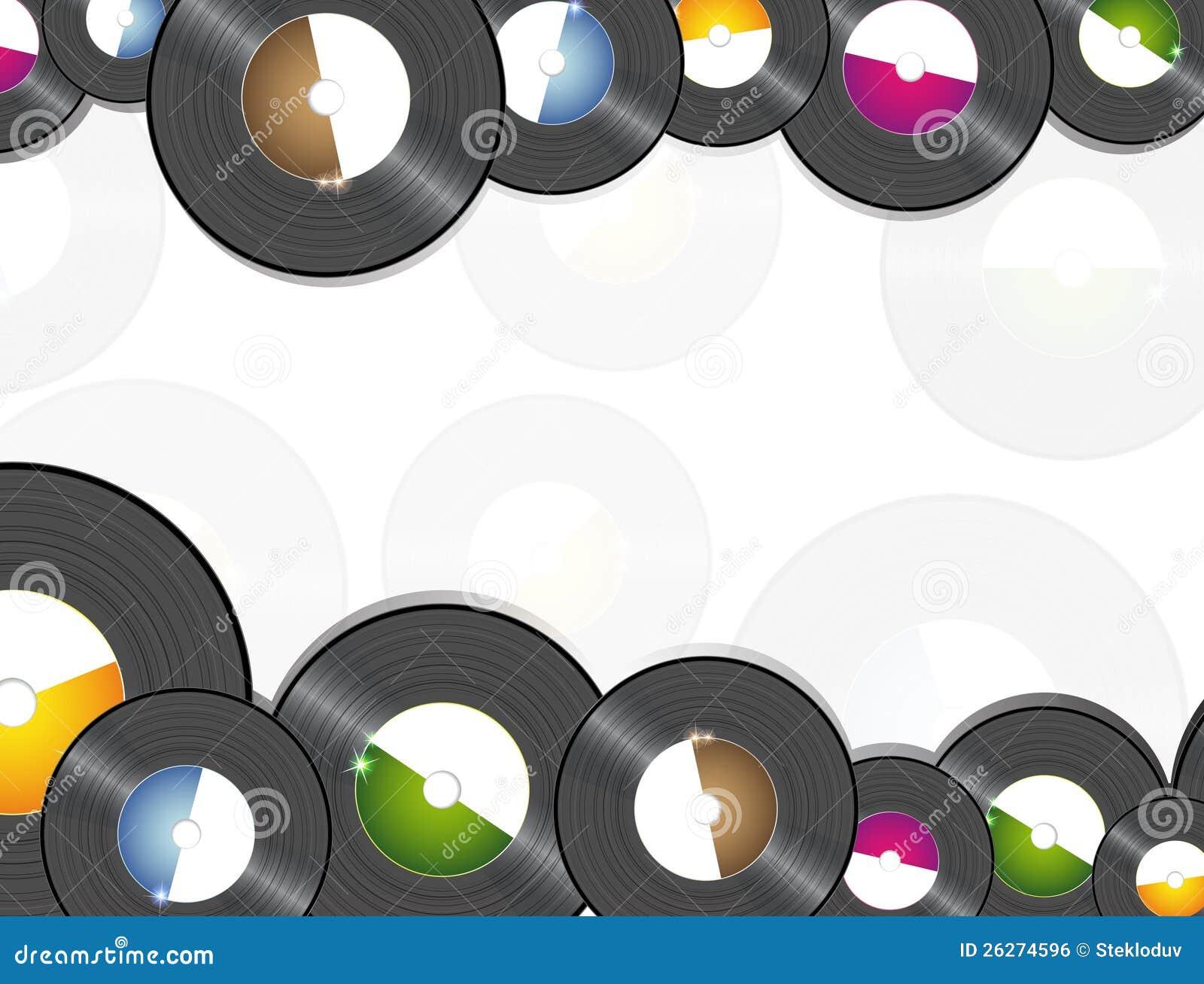Vinyl Music Background Royalty Free Stock Image Image