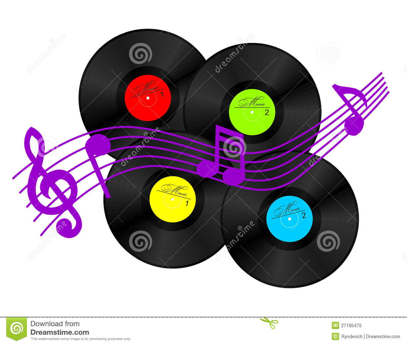 vinyl record stock vector illustration of musical  disco free music note clipart border free music notes clip art images