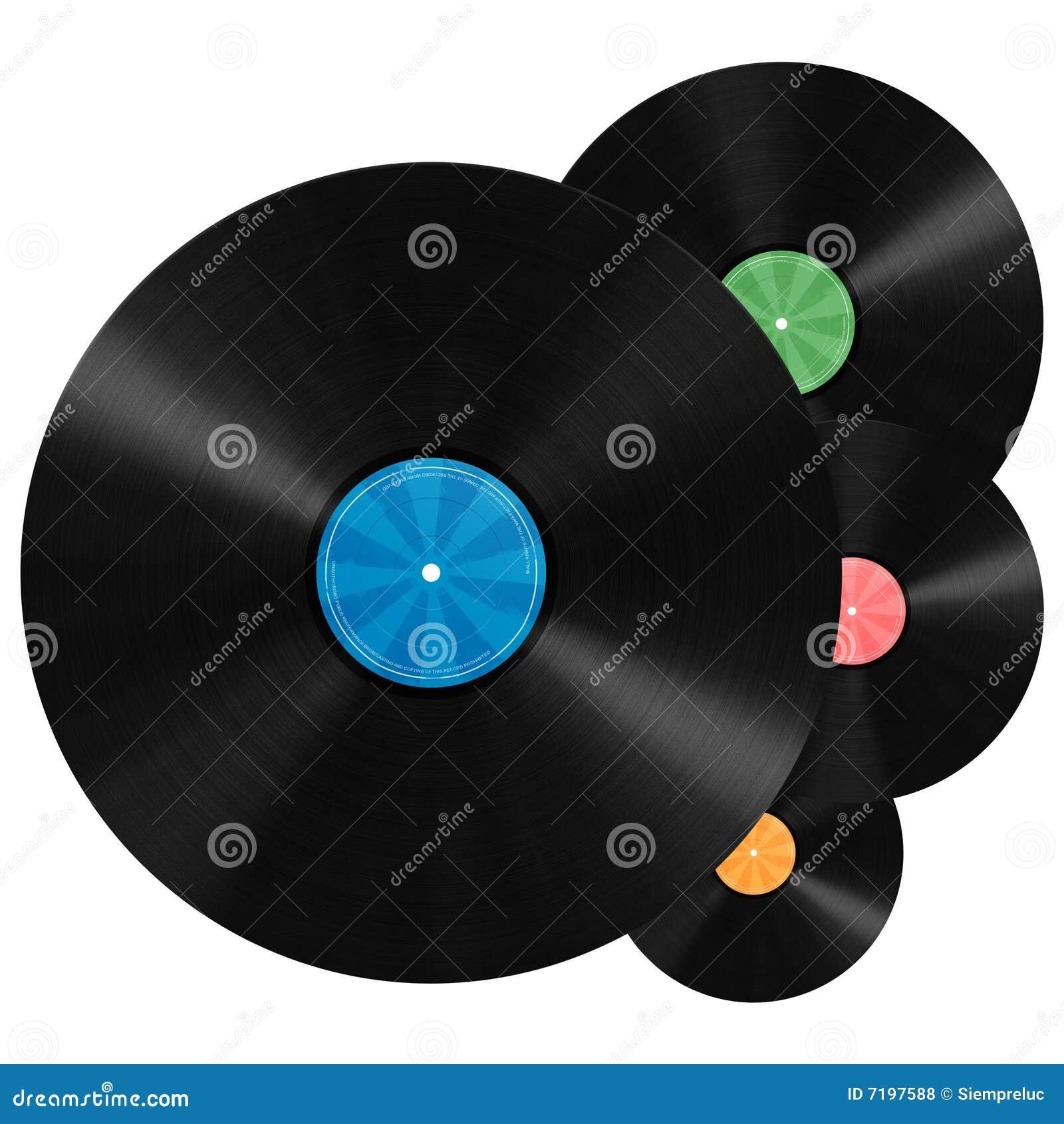 Vinyl Record Background Royalty Free Stock Photos Image