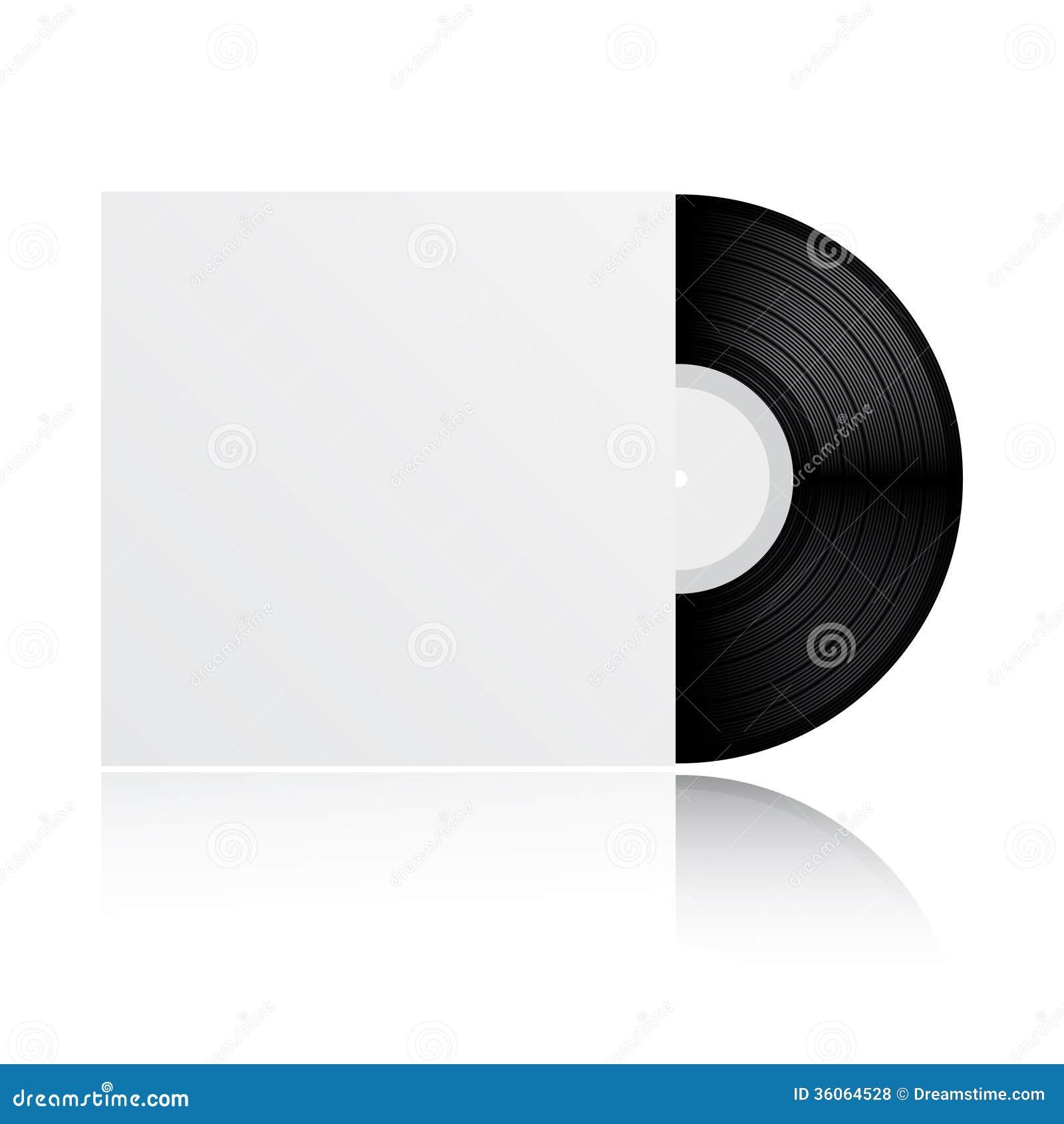 Blank White Vinyl Cover Stock Images - Image: 32074804