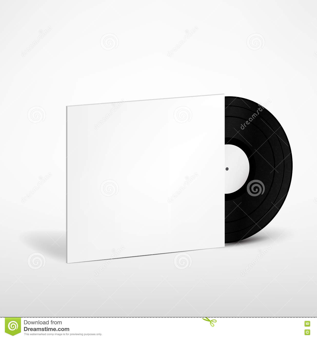 It's just a photo of Gutsy Free Vinyl Record Label Template