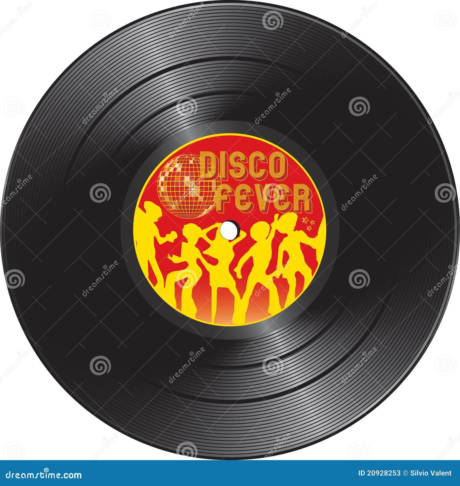Vinyl Record With Disco Fever Stock Photos Image 20928253
