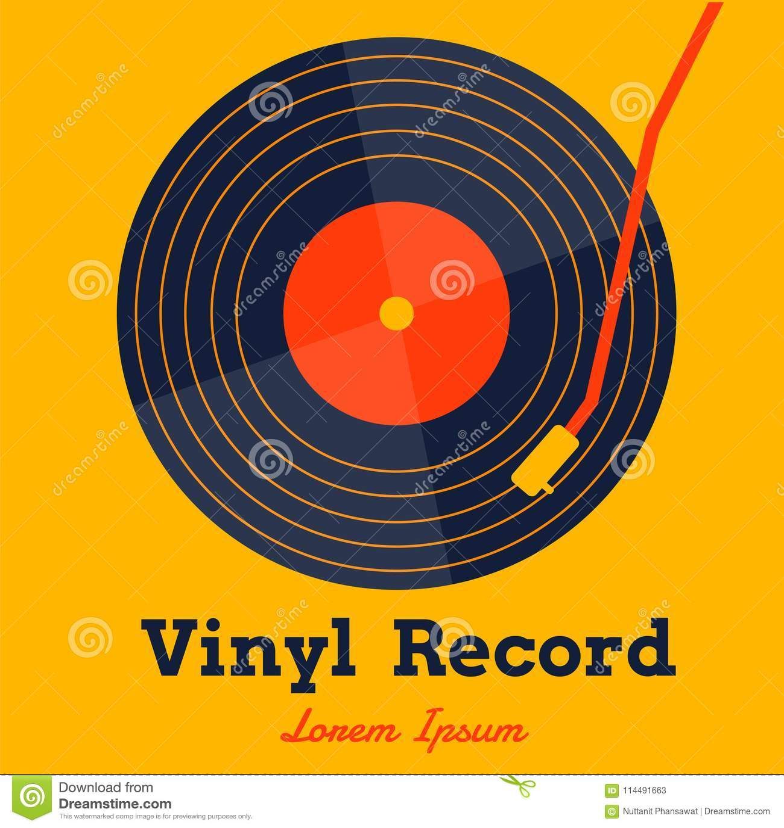 Vinyl Cartoons Illustrations Amp Vector Stock Images