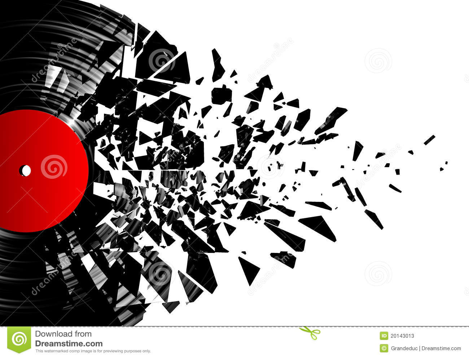 Vinyl Shatter Stock Photos Image 20143013