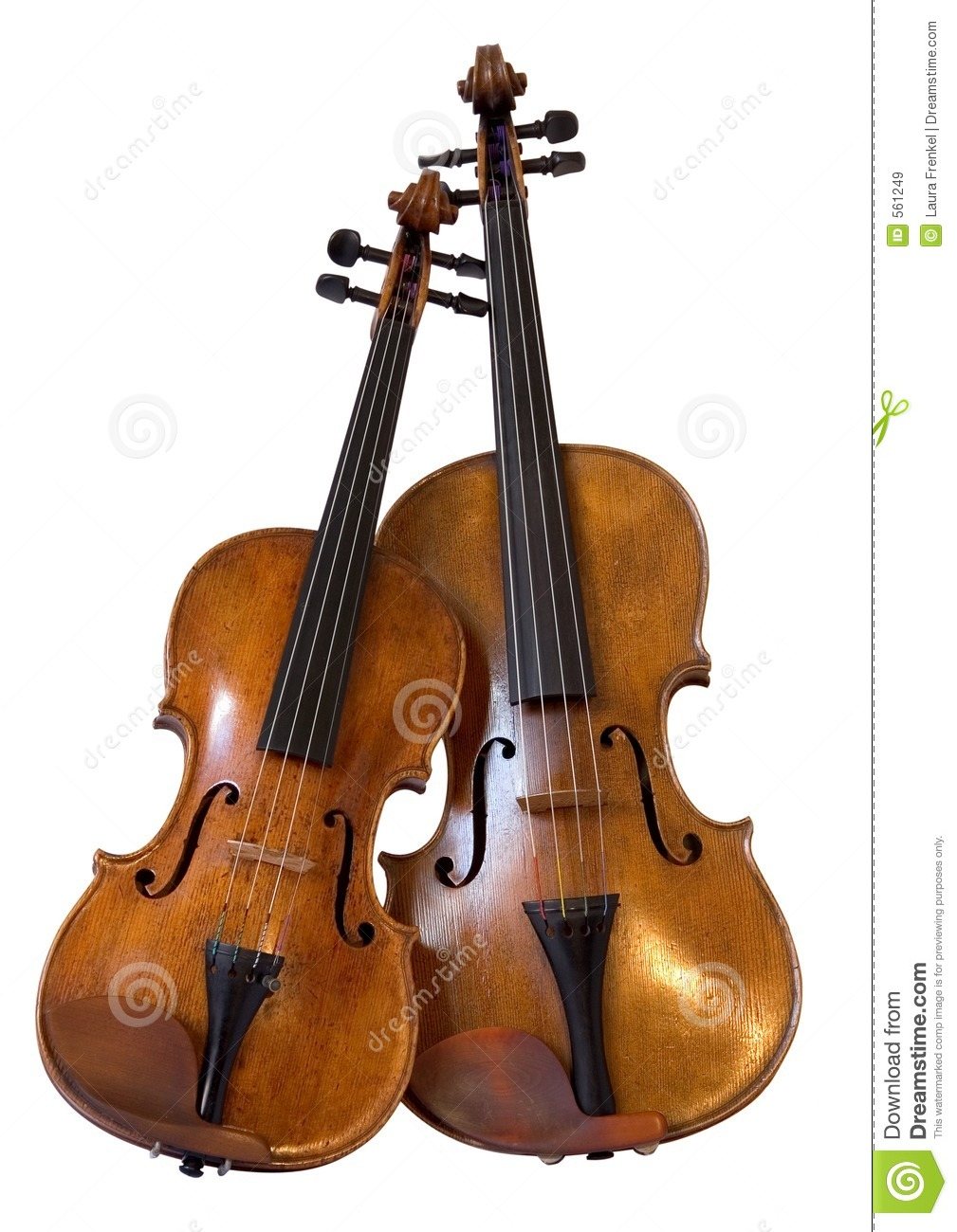 Violin and viola the subtle similarities