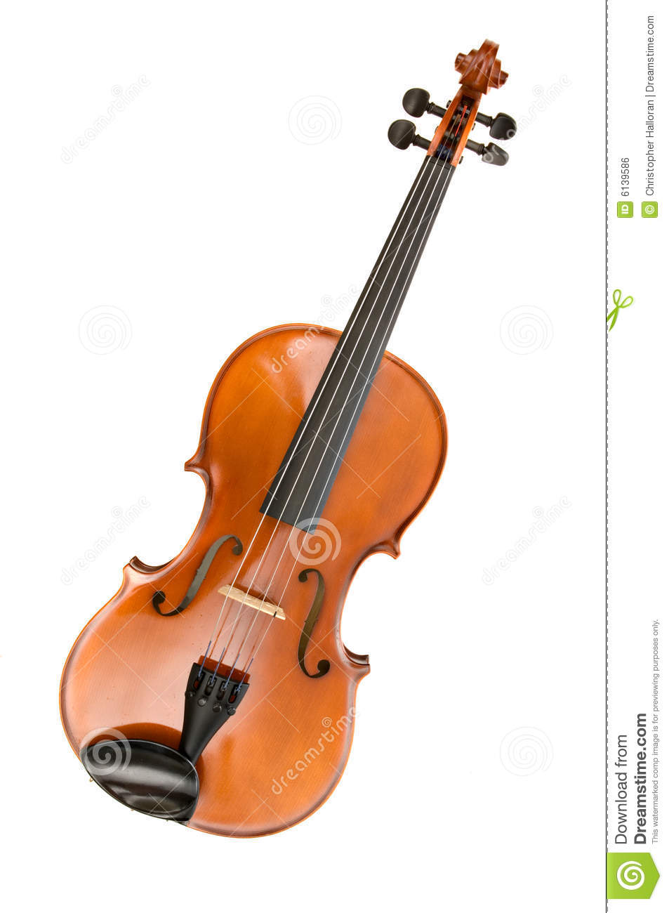 Viola Or Violin Royalty Free Stock Image - Image: 6139586
