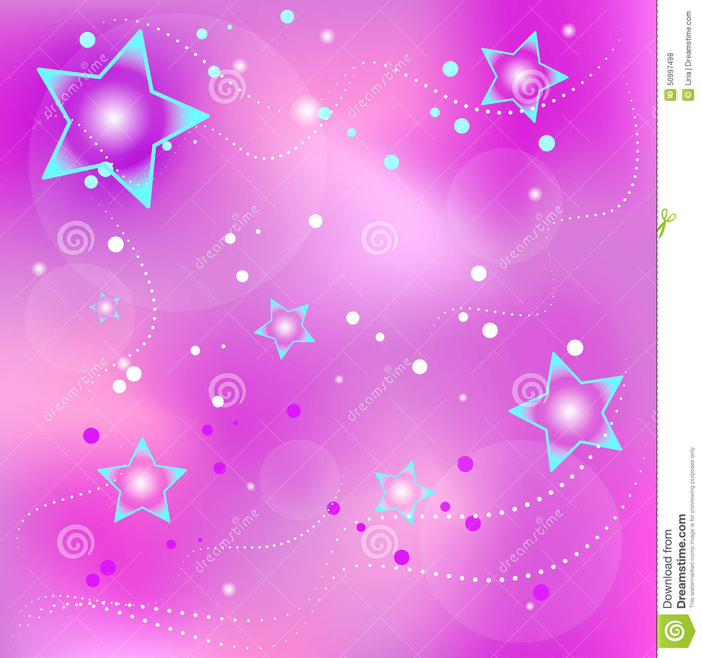 Violet Background With Stars Stock Vector - Image: 50997498