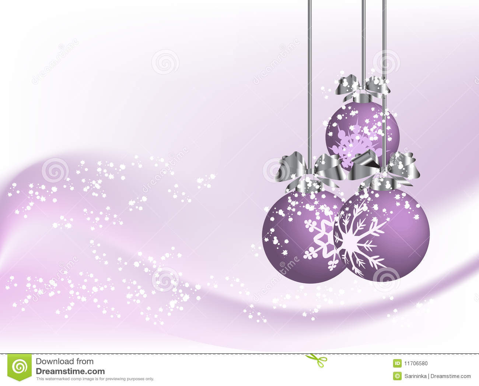 Violet Christmas Stock Vector Illustration Of Illustration 11706580