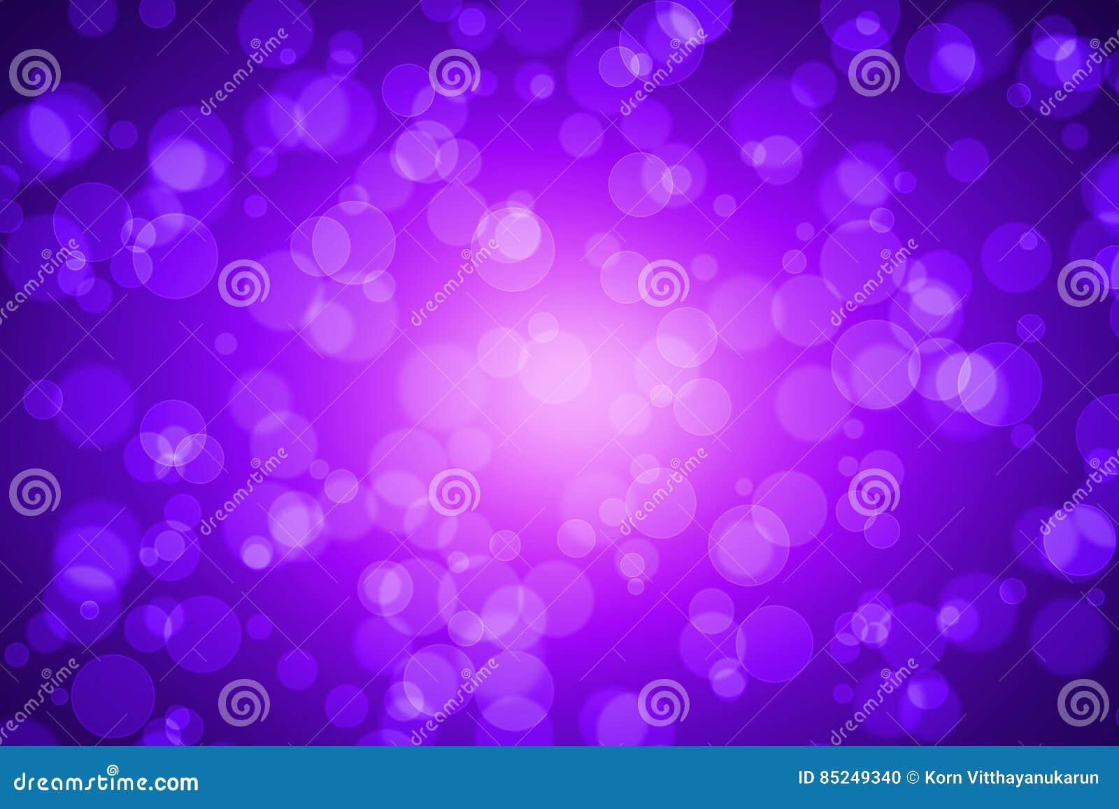 Violet Color Blur Bokeh voor Achtergrond