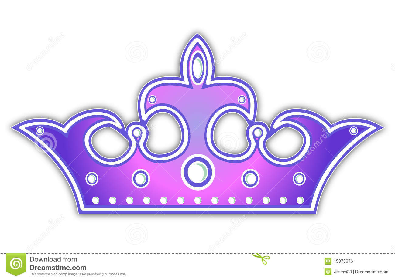 Violet Crown Royalty Free Stock Image - Image: 15975876
