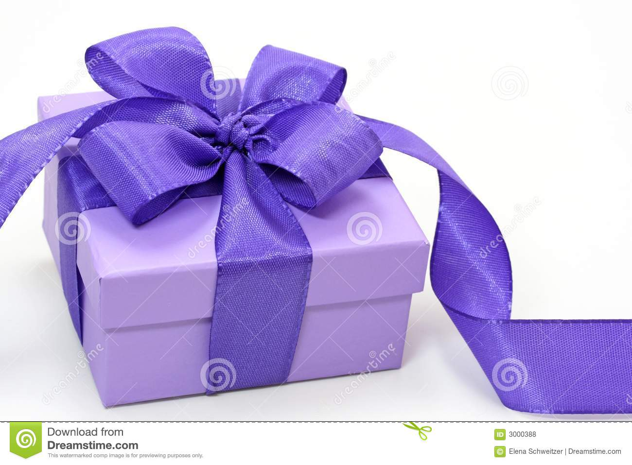 Violet Gift Box Royalty Free Stock Photos Image 3000388