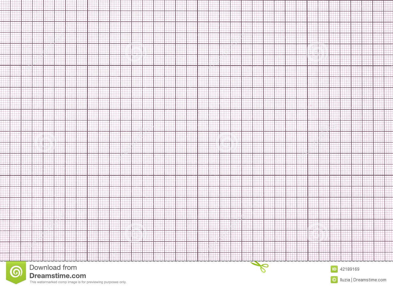 Blank Ecg Paper Violet graph paper stock photo - image: 42189169