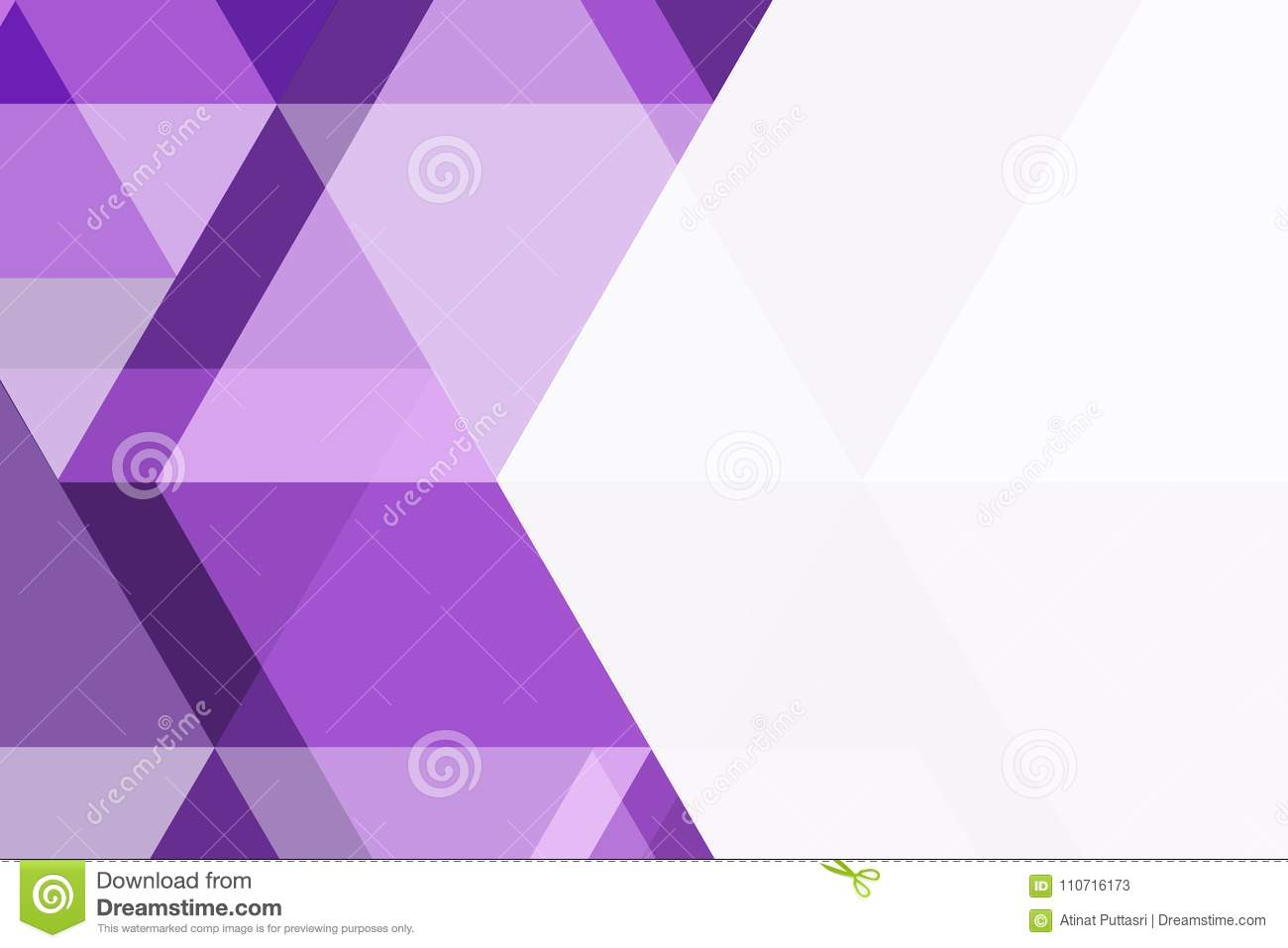 Violet And White Triangle Geometric Abstract Background Stock Vector Illustration Of Banner Geometric 110716173