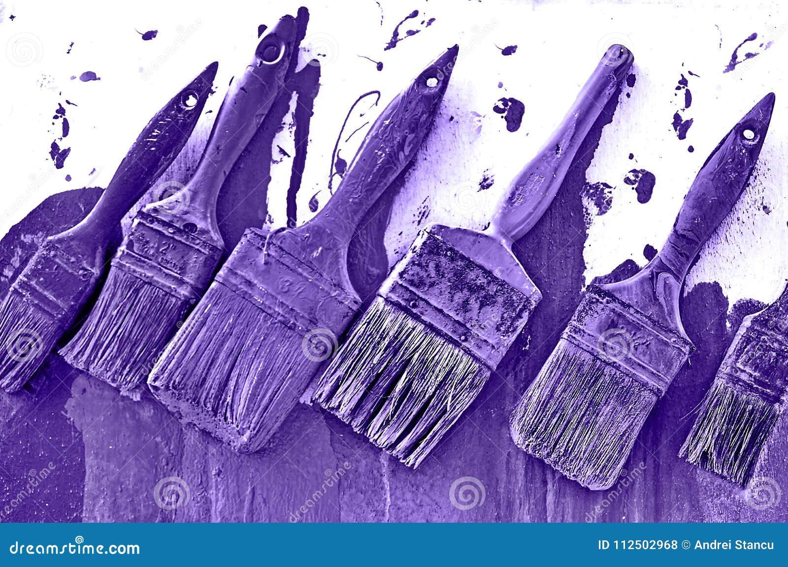 Violeta de pintura