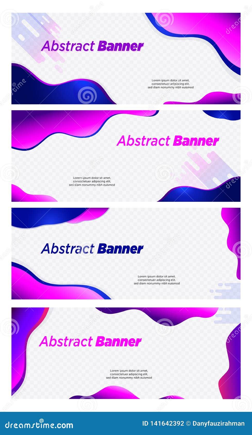 Violeta del vector del diseño de la burbuja del extracto de la bandera y jefe azul del color