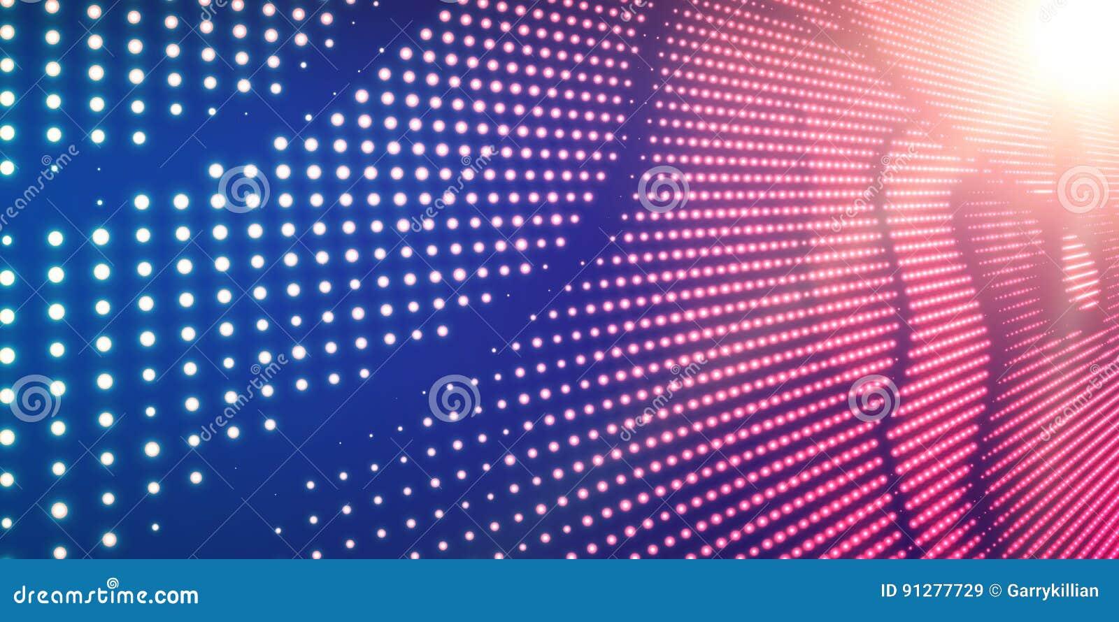 Violett bakgrund för abstrakt vektor med glänsande neonljus Neontecken med abstrakt bild i perspektiv