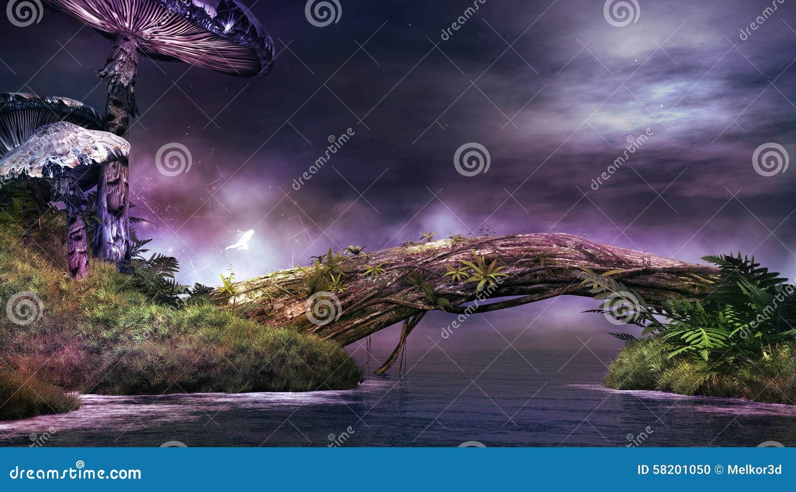 Violetta champinjoner