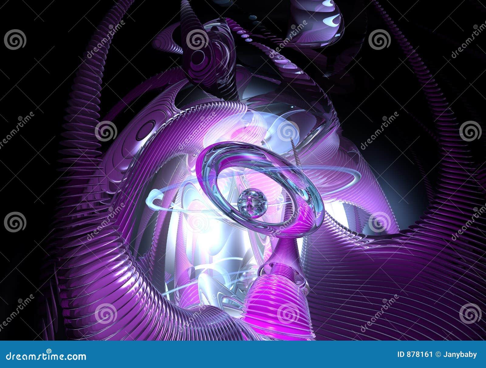 Violette kosmiczny marzeń