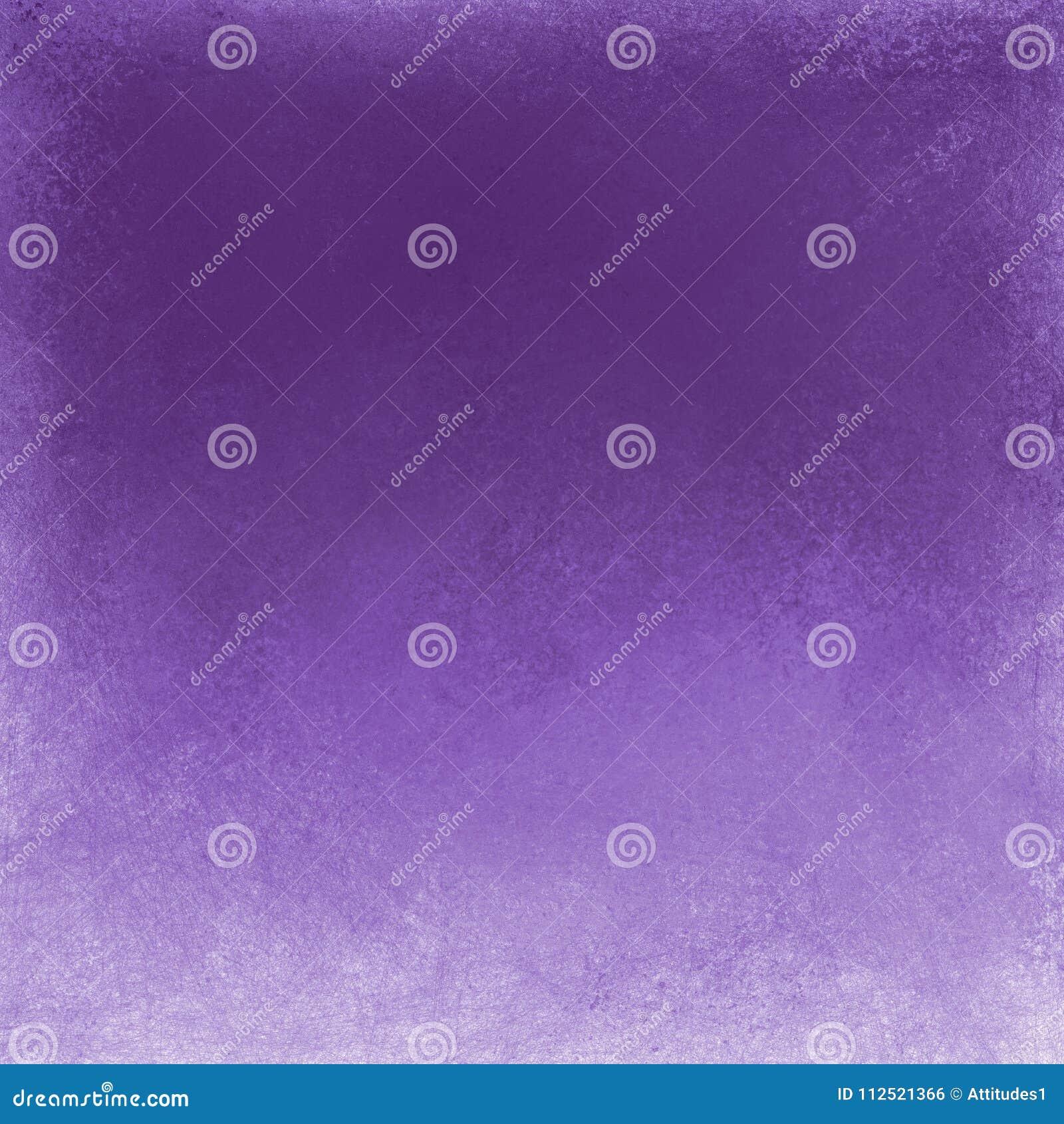 Violette purpere achtergrond met witte grungegrens, bevlekt slordig uitstekend textuurontwerp