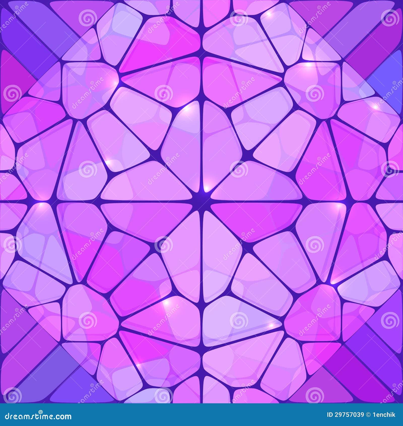 Violetter Buntglaszusammenfassungs-vektorhintergrund