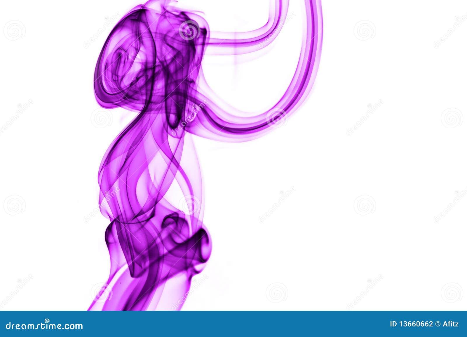 Violetter Rauch
