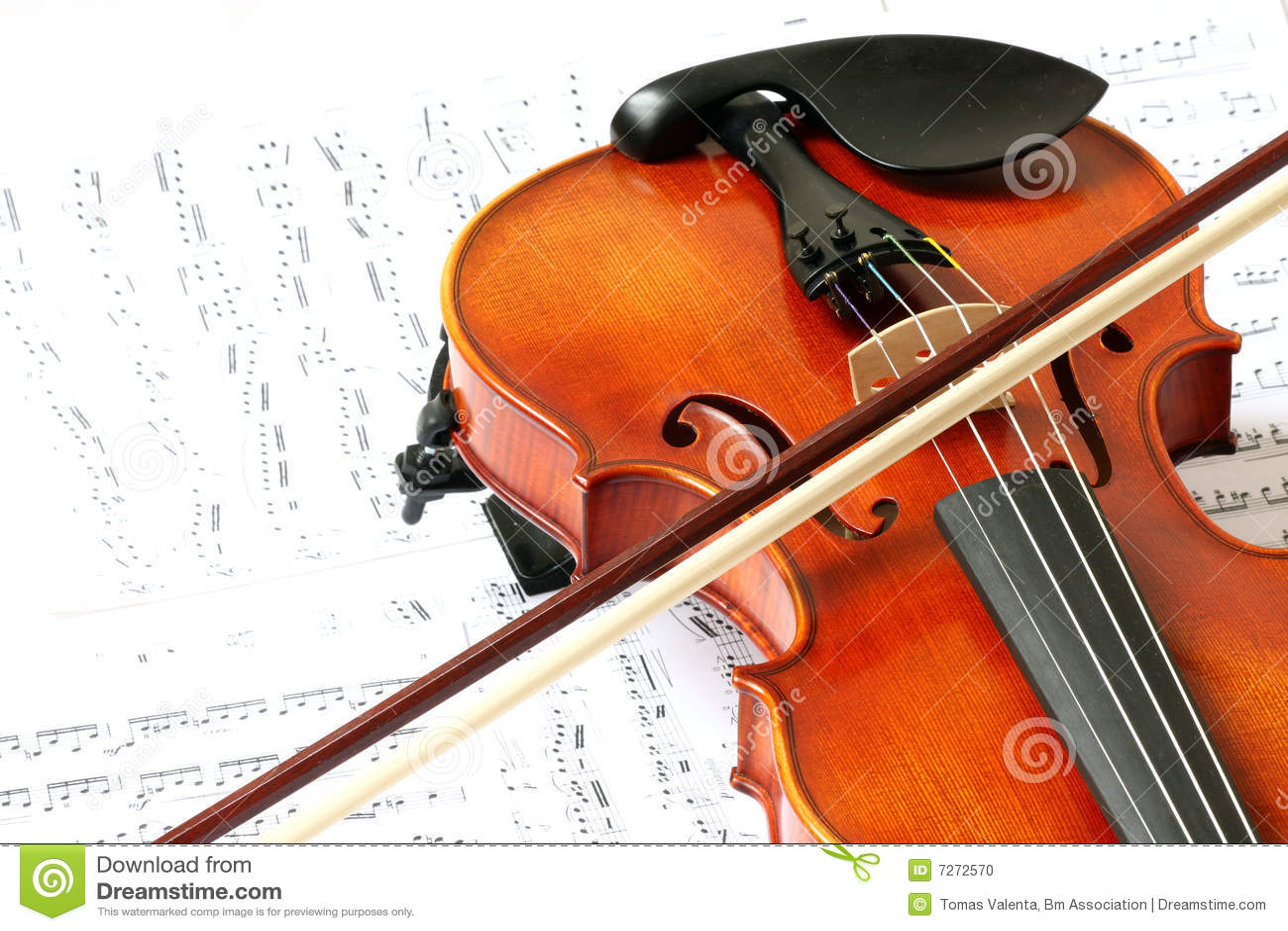 Violin Stock Photo - Image: 7272570